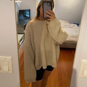 OAK + FORT Oversized knit sweater